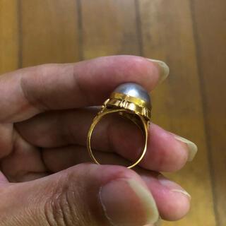 マベパール18金指輪4.8gk18刻印しっかりあり!