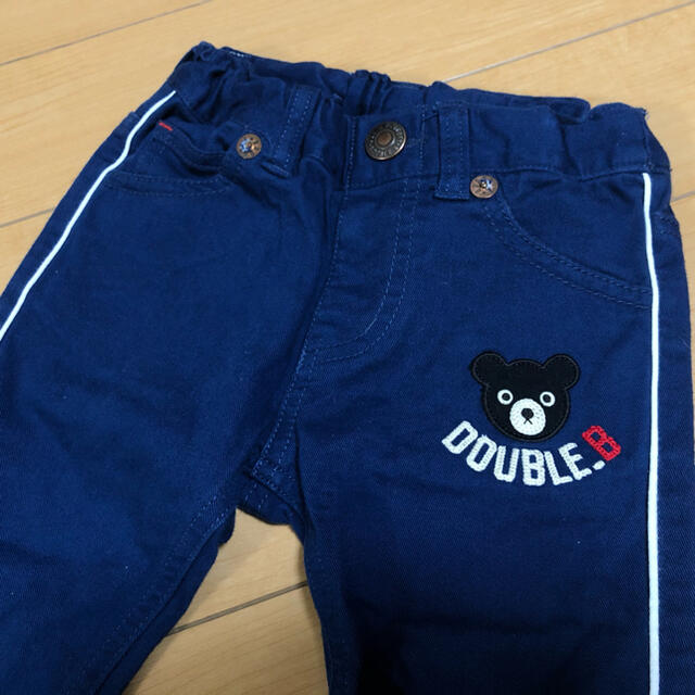 DOUBLE.B(ダブルビー)のミキハウスダブルビー 90cm パンツ キッズ/ベビー/マタニティのキッズ服男の子用(90cm~)(パンツ/スパッツ)の商品写真