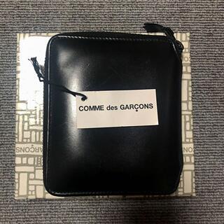 コムデギャルソン(COMME des GARCONS)の【状態良好】COMME des GARCONS レザー 二つ折り財布(折り財布)