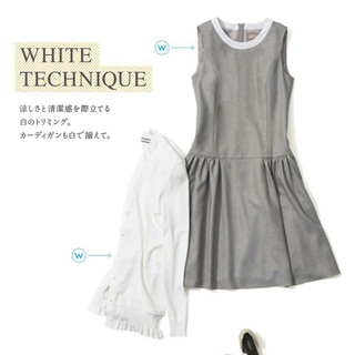 FOXEY - フォクシー FOXEY DAISY WASHABLE ワンピース