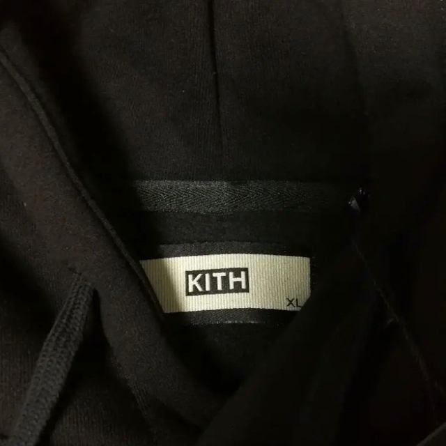 Supreme(シュプリーム)のKITH CLASSIC LOGO HOODIE TRIPLEBLACK メンズのトップス(パーカー)の商品写真