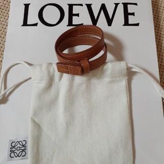 LOEWE - LOEWE 2連レザーブレスレット