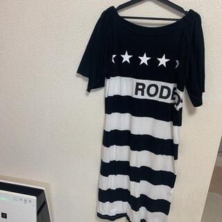ロデオクラウンズ(RODEO CROWNS)の美品☆ロデオクラウンズ オフショルワンピース(ロングワンピース/マキシワンピース)