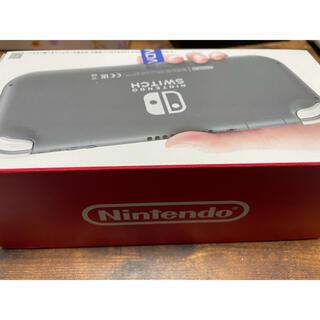 Nintendo Switch - Nintendo Switch Liteグレー ほぼ新品!保証期間まだまだあり!