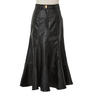 snidel - Her lip to♡正規品Faux Leather Midi Skirt