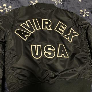 アヴィレックス(AVIREX)のAVIREX アヴィレックス ma-1(ミリタリージャケット)