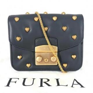 Furla - FURLA ハートスタッズチェーンバッグ  メトロポリス