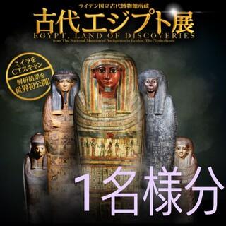 1枚 ライデン国立古代博物館所蔵 古代エジプト展 渋谷Bunkamura 招待券