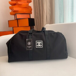 CHANEL - 未使用 ノベルティ♡ シャネルショルダーバッグ ボストンバッグ 旅行バッグ
