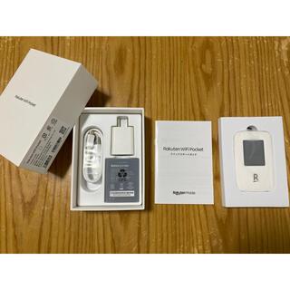 ラクテン(Rakuten)の新品 未使用 Rakuten WiFi Pocket 白(PC周辺機器)