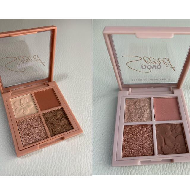 ラスト1点 novo 桜アイシャドウパレット 2個セット コスメ/美容のベースメイク/化粧品(アイシャドウ)の商品写真