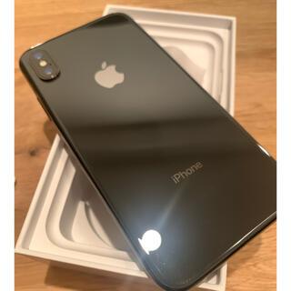 アイフォーン(iPhone)の【美品】iPhone X Space Gray 256 GB SIMフリー(スマートフォン本体)