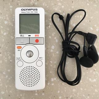 オリンパス(OLYMPUS)のオリンパス ボイスレコーダー VN-7200(ポータブルプレーヤー)