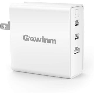 急速充電器 PD充電器 65W GaNテクノロジー 3ポート 折り畳み可能