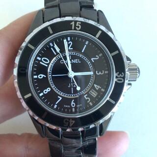 CHANEL - 本日値下げ中 即購入!!本日発送◆シャネル◆メンズ級品◆ 腕時計◆
