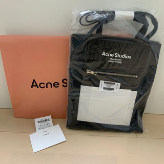 ACNE - acne studios アクネ baker out トートバッグ M 新品