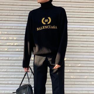 Balenciaga - 【日本未発売】balenciaga 19aw タートルネックセーター