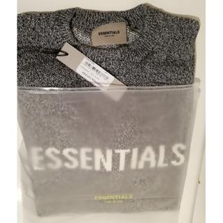 フィアオブゴッド(FEAR OF GOD)のFOG essentials ニット セーター ホワイト S サイズ(ニット/セーター)