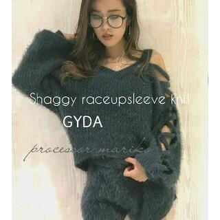GYDA - GYDA⭐シャギ-レ-スアップスリ-ブニット