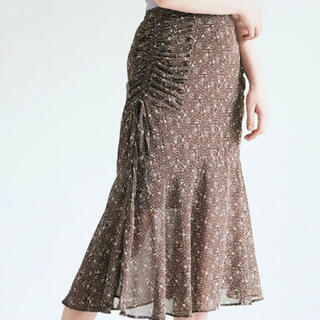 PROPORTION BODY DRESSING - ECLIN サイドギャザーマーメイドスカート
