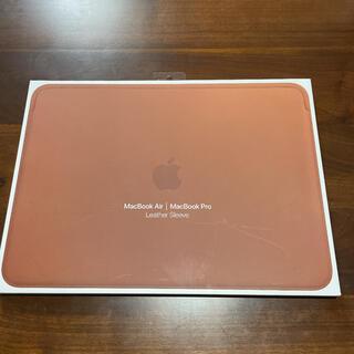 Apple - 美品 13インチMacBook AirとMacBook Pro用 レザースリーブ