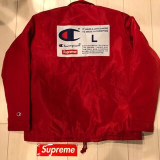 シュプリーム(Supreme)のsupreme✖️champion  coachts jacket アウター(ナイロンジャケット)