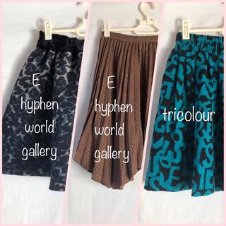 イーハイフンワールドギャラリー(E hyphen world gallery)のミニスカート 3着セット(ミニスカート)