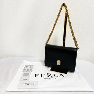 Furla - 【美品】FURLA 1927 チェーン ショルダーバッグ レディース ボルドー