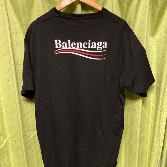 Balenciaga(バレンシアガ)のbalenciaga バレンシアガ キャンペーンロゴ Tシャツ メンズのトップス(Tシャツ/カットソー(半袖/袖なし))の商品写真