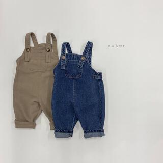 rakar バックラインサロペット 韓国子供服(パンツ/スパッツ)