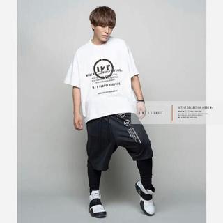 ユリウス(JULIUS)のIKE project [ W/ ] T-SHIRT WHITE(Tシャツ/カットソー(半袖/袖なし))