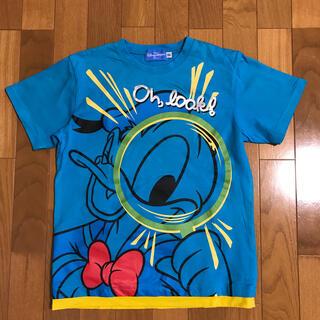 ディズニー(Disney)のディズニー ドナルドダック 半袖Tシャツ 150サイズ 美品(Tシャツ/カットソー)