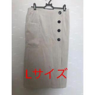 シマムラ(しまむら)のしまむら プチプラのあや コーデュロイスカート(ロングスカート)