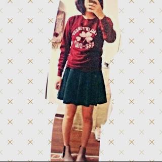 ハニーズ(HONEYS)のプリーツスカート(ひざ丈スカート)