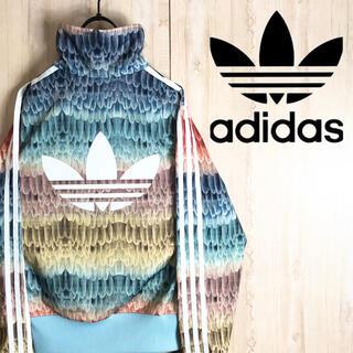adidas - adidas アディダス ジャージ ブルゾン ファーム コラボ デカロゴ レア