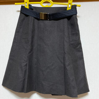 クミキョク(kumikyoku(組曲))の組曲 ベルト付きボックススカート(ひざ丈スカート)