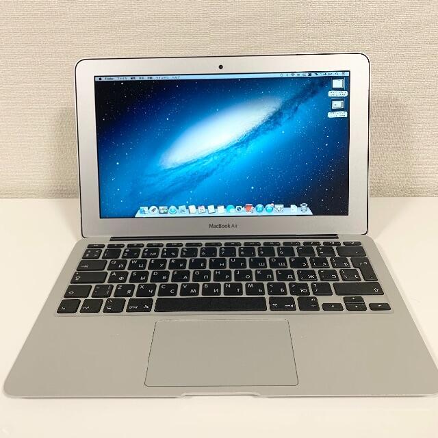 Apple(アップル)の 【かず様専用】MacBook Air (11インチ Mid. 2012) i5 スマホ/家電/カメラのPC/タブレット(ノートPC)の商品写真