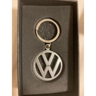フォルクスワーゲン(Volkswagen)のディーラー購入 フォルクスワーゲンロゴ キーフォルダー 新品未使用(キーホルダー)