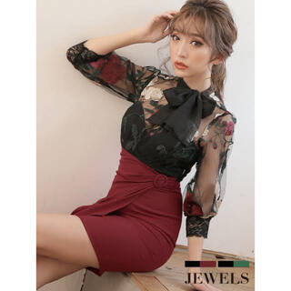 JEWELS - ヴィンテージローズ ドレス