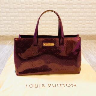 LOUIS VUITTON - 美品 LOUIS VUITTON ウィルシャーPM M93641 ヴェルニ