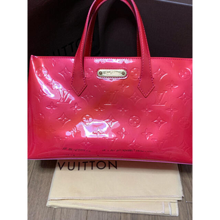 LOUIS VUITTON - LOUIS VUITTON ルイヴィトン ウィルシャー PM ローズポップ