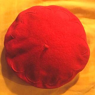 ミルク(MILK)のMILK ベレー帽 ミルク レア お花 花 花型 帽子 (ハンチング/ベレー帽)