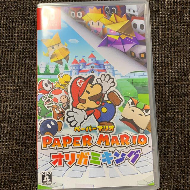 Nintendo Switch(ニンテンドースイッチ)のペーパーマリオ オリガミキング Switch エンタメ/ホビーのゲームソフト/ゲーム機本体(家庭用ゲームソフト)の商品写真