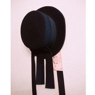 metamorphose temps de fille - メタモルフォーゼ フェルトカンカン帽 新品タグ付き