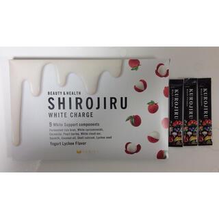 ファビウス(FABIUS)の白汁 SHIROJIRU FABIUS(KUROJIRUオマケ付)(ダイエット食品)
