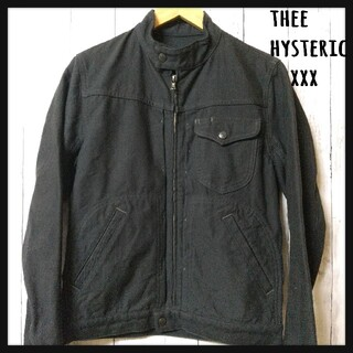 Thee Hysteric XXX - thee hysteric xxx ライダース ジャケット ブルゾン 黒 S