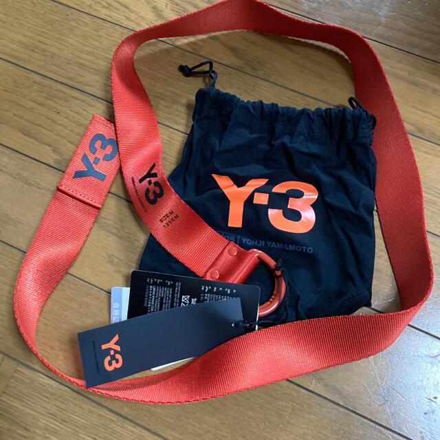 Y-3(ワイスリー)の新品 正規品 Y-3 ワイスリー ベルト オレンジ Mサイズ 125cm 完品 メンズのファッション小物(ベルト)の商品写真