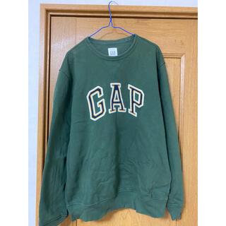 GAP - 美品 GAP ギャップ 緑 グリーン  スウェット トレーナー