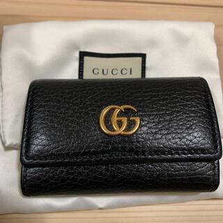 Gucci - GUCCI プチマーモント 6連キーケース