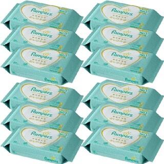 ピーアンドジー(P&G)の新品□パンパース 肌へのいちばん おしりふき 56枚×24個 ケース販売(ベビーおしりふき)